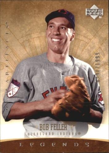 Photo of 2005 Artifacts #154 Bob Feller LGD