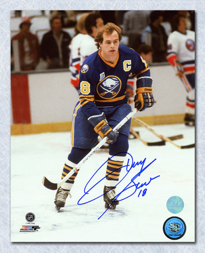 Danny Gare Buffalo Sabres Autographed Captain 8x10 Photo