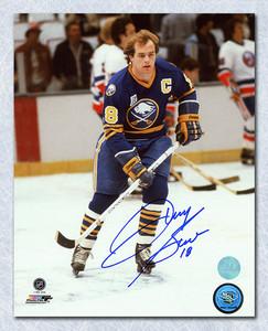 Danny Gare Buffalo Sabres Autographed Captain 8x10 Photo