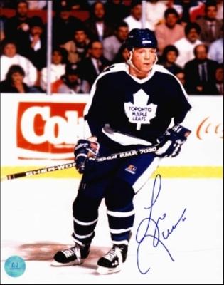 GARY LEEMAN Toronto Maple Leafs SIGNED 8x10 Photo