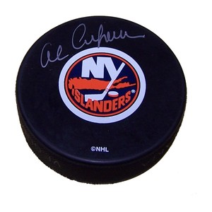 Al Arbour (deceased) Autographed New York Islanders Puck