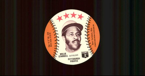 Photo of 1976 Isaly Discs #58 Willie Stargell