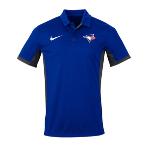 Toronto Blue Jays Evergreen Golf Polo Royal/Grey by Nike