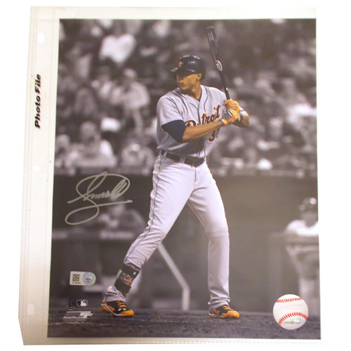Photo of Detroit Tigers Steven Moya Autographed Photograph