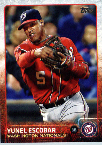 Photo of 2015 Topps Update #US210 Yunel Escobar