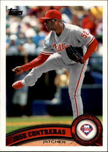 Photo of 2011 Topps #267 Jose Contreras