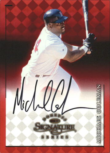Photo of 1998 Donruss Signature Autographs #21 Michael Coleman/2800*