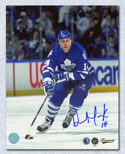 Dave Andreychuk Toronto Maple Leafs Autographed Skating 8x10 Photo