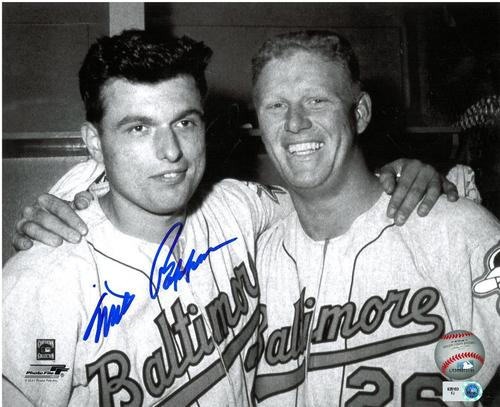 Photo of Milt Pappas Autographed 8x10