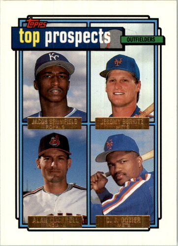 Photo of 1992 Topps Gold #591 A.Cockrell/J.Burnitz
