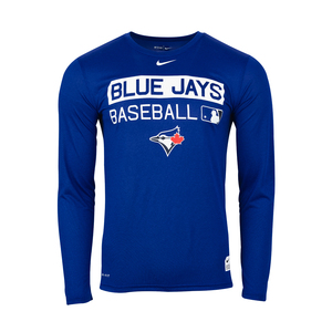 Toronto Blue Jays Authentic Collection Legend Team Issue Longsleeve Royal by Nike