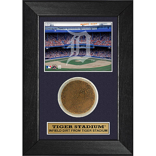 Photo of Detroit Tigers Tiger Stadium Dirt Frame