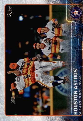 Photo of 2015 Topps #496 Houston Astros