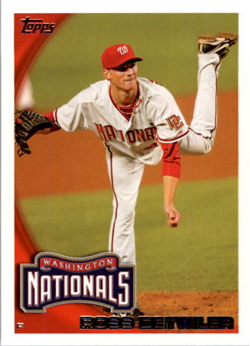 Photo of 2010 Topps #628 Ross Detwiler
