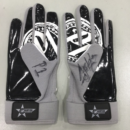 Photo of AJ Styles SIGNED Gloves