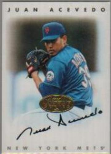 Photo of 1996 Leaf Signature Autographs Gold #2 Juan Acevedo