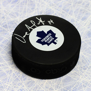 Dave Andreychuk Toronto Maple Leafs Autographed Hockey Puck