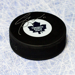 Gary Leeman Toronto Maple Leafs Autographed Hockey Puck
