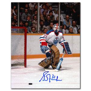 Grant Fuhr Edmonton Oilers Autographed 8x10