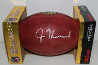 NFL - BEARS JORDAN HOWARD SIGNED AUTHENTIC FOOTBALL