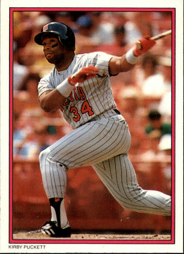 Photo of 1988 Topps Glossy Send-Ins #27 Kirby Puckett