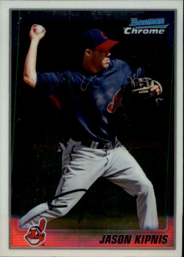 Photo of 2010 Bowman Chrome Prospects #BCP196A Jason Kipnis -- Indians post-season