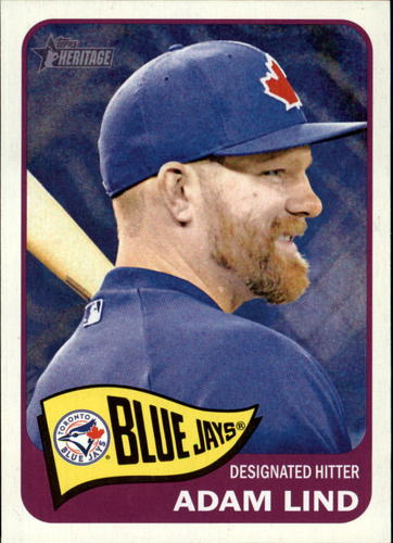 Photo of 2014 Topps Heritage #59 Adam Lind