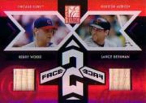 Photo of 2005 Donruss Elite Face 2 Face Bats #11 Kerry Wood/Lance Berkman/150