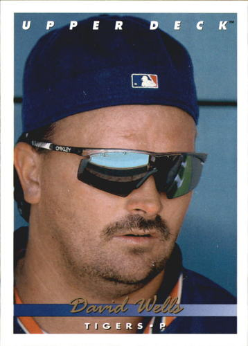 Photo of 1993 Upper Deck Gold Hologram #699 David Wells
