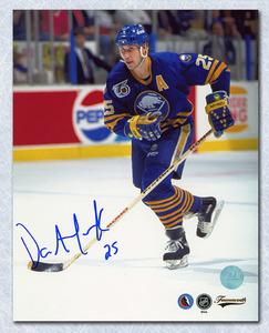 Dave Andreychuk Buffalo Sabres Autographed 8x10 Skating Photo
