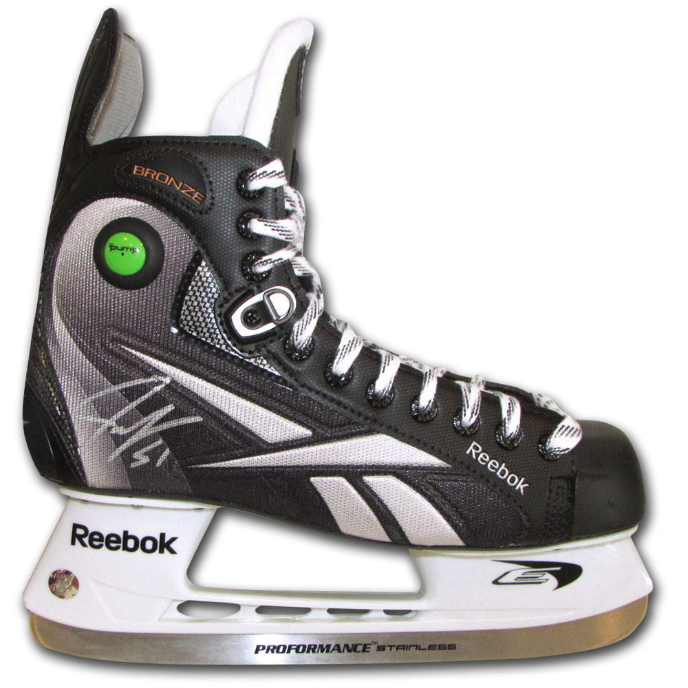 Jake Gardiner Autographed Reebok Bronze Hockey Skate (Toronto Maple Leafs)