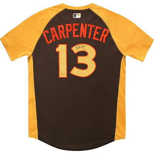 Photo of Matt Carpenter 2016 Major League Baseball Workout Day/Home Run Derby Autographed Jersey