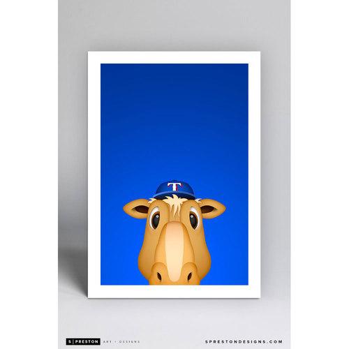 Photo of Minimalist Ranger Captain Art Print (Limited Edition #14/350)