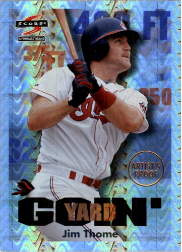 Photo of 1997 Score Showcase Series Artist's Proofs #514 Jim Thome