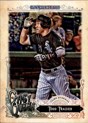 Photo of 2017 Topps Gypsy Queen #142 Todd Frazier
