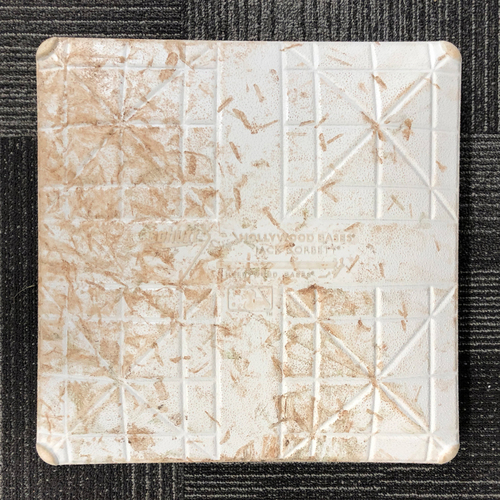 Photo of San Francisco Giants - HOLIDAY STEALS - 2017Game-Used Base - St. Louis Cardinals at San Francisco Giants - August 31, 2017 - 1st Base from Innings 1-3 - Top 1st -  Carpenter Single, Martinez Single and Grichuk HR - Bottom 2nd - Brandon Crawford Do...