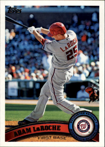 Photo of 2011 Topps #513 Adam LaRoche
