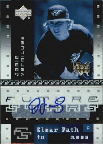 Photo of 2007 Upper Deck Future Stars #139 Jamie Vermilyea AU RC