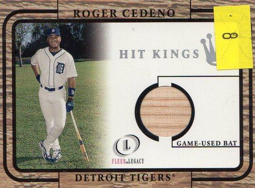 Photo of 2001 Fleer Legacy Hit Kings #8 Roger Cedeno
