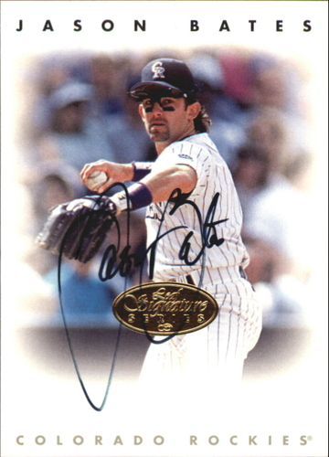 Photo of 1996 Leaf Signature Autographs Gold #16 Jason Bates