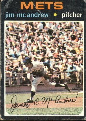 Photo of 1971 Topps #428 Jim McAndrew