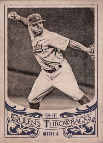 Photo of 2015 Topps Gypsy Queen The Queen's Throwbacks  Jose Altuve