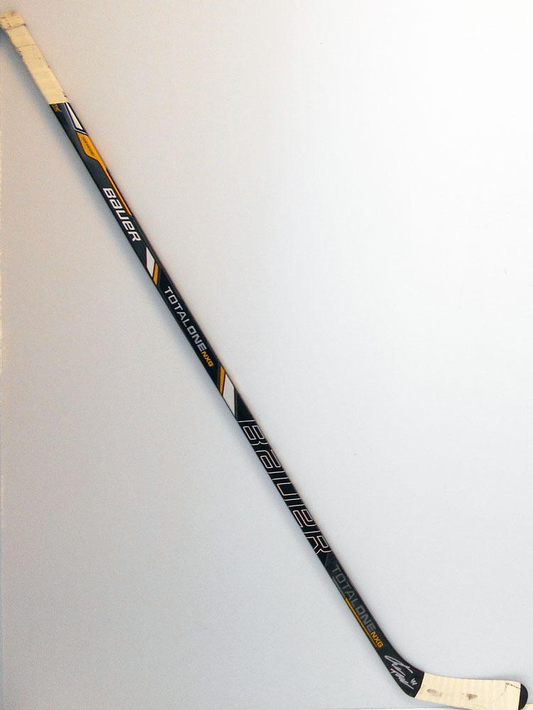 #44 Kimmo Timonen Game Used Stick - Autographed - Philadelphia Flyers