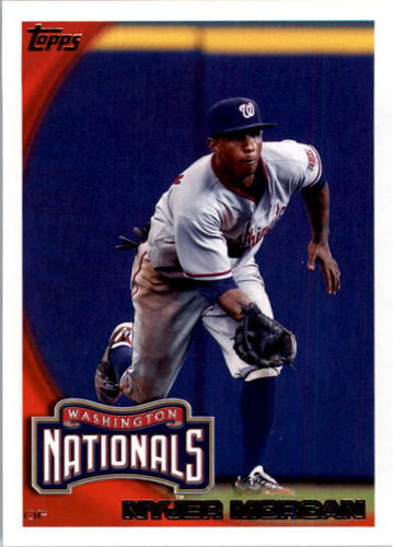Photo of 2010 Topps #152 Nyjer Morgan