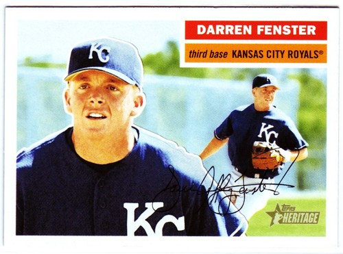 Photo of 2005 Topps Heritage #365 Darren Fenster RC
