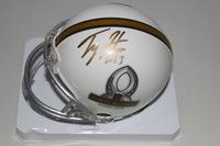 NFL - COLTS T.Y. HILTON SIGNED 2016 PRO BOWL MINI HELMET