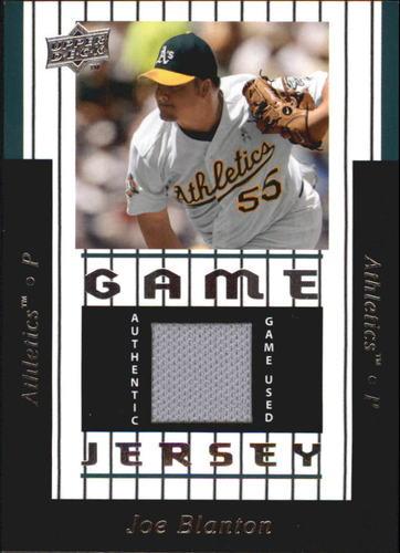 Photo of 2008 Upper Deck UD Game Materials 1997 #JB Joe Blanton