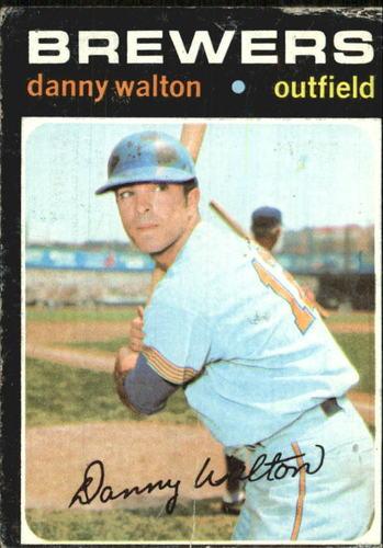 Photo of 1971 Topps #281 Danny Walton
