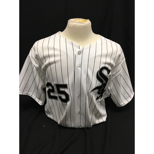 Photo of Jim Thome Autographed Jersey