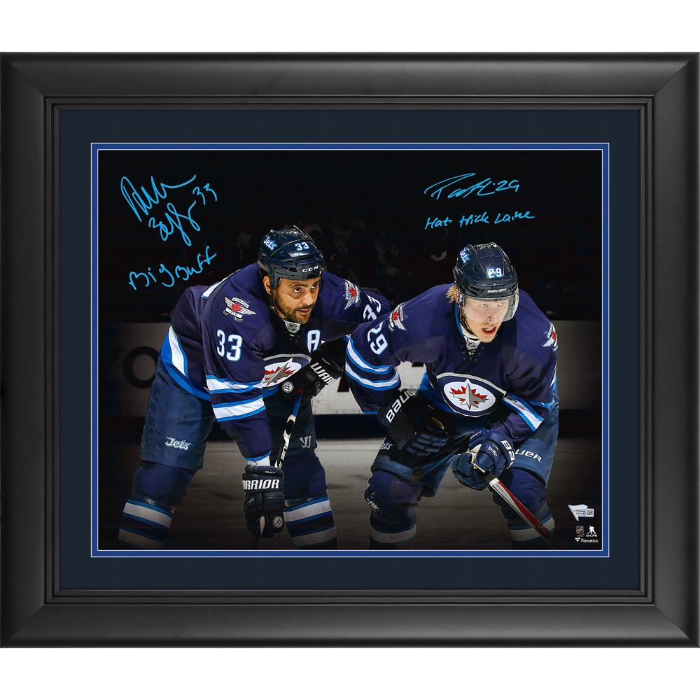 Patrik Laine & Dustin Byfuglien Winnipeg Jets Framed Autographed 16